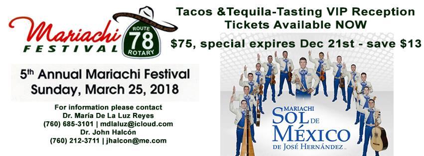 mariachi festival escondido