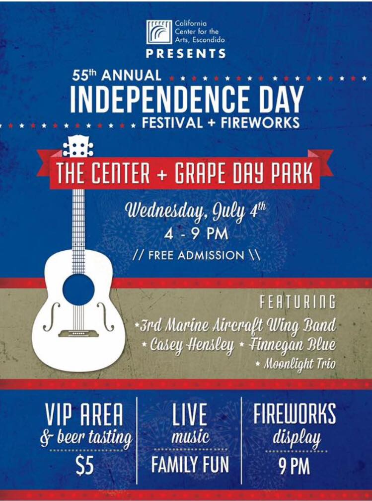 independence day festival fireworks at the center visit