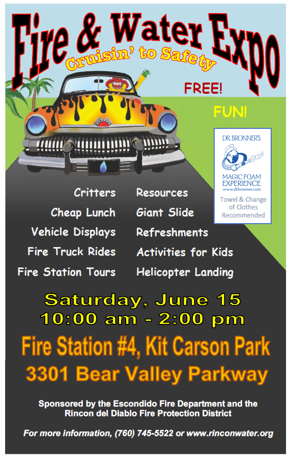 fire and water expo escondido