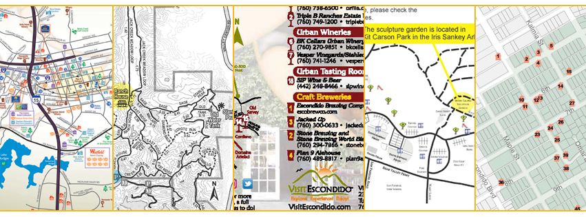 escondido maps