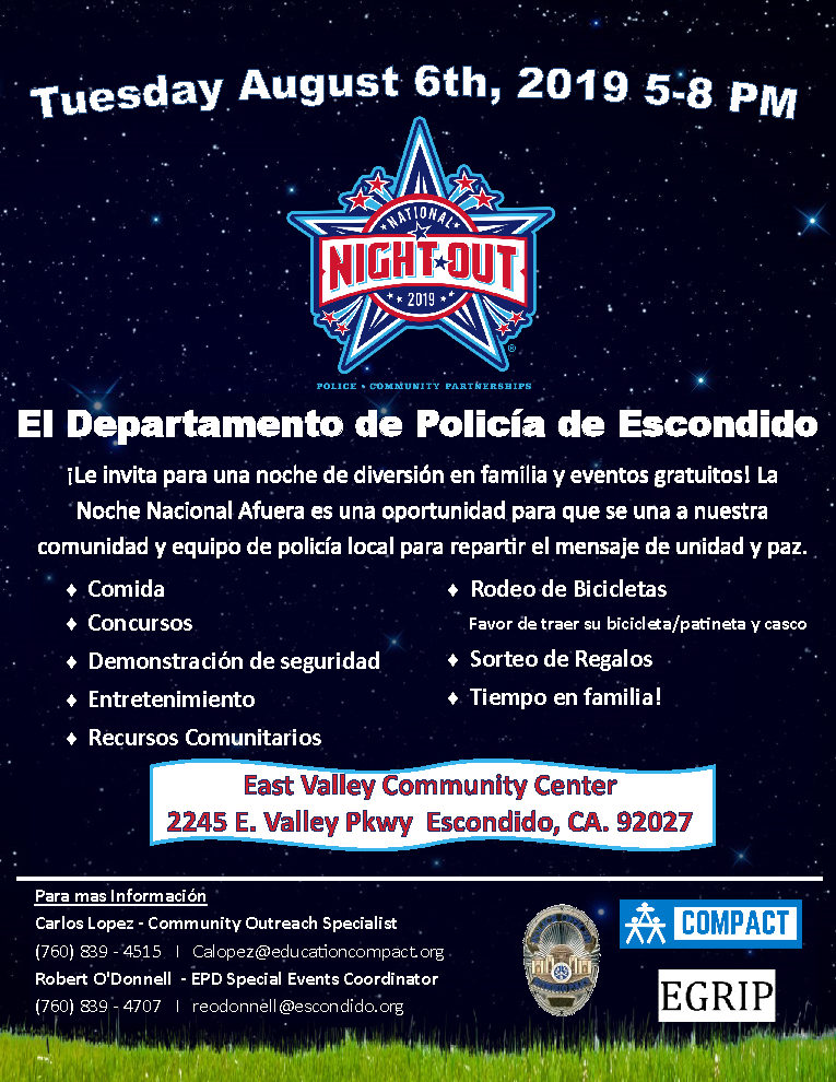 National Night Out Escondido