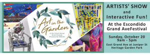 art in the garden escondido street fair