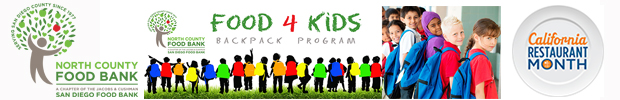 north county food bank food 4 kids backpack program