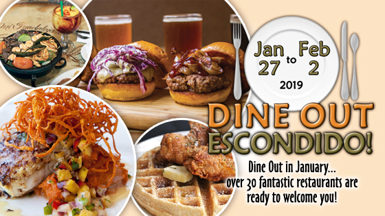 Dine Out Escondido Restaurant Week 2019