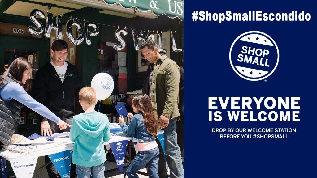 shop small business saturday escondido