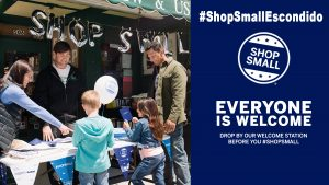 shop small business saturday escondido