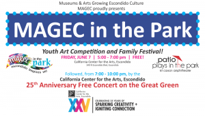 magec in the park family festival escondido