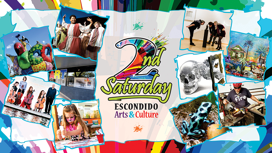 magec 2nd saturday escondido arts