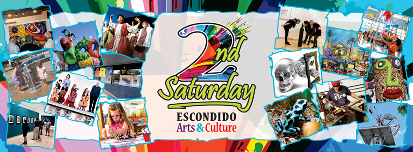escondido 2nd saturday arts and culture artwalk