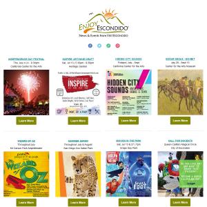 visit escondido newsletter july