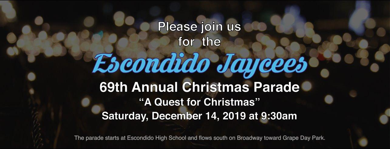 Escondido Christmas Parade 2020 Annual Escondido Jaycees Christmas Parade In Historic Downtown